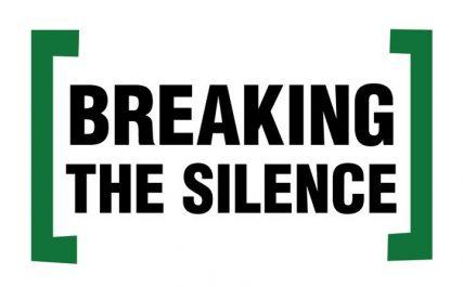 Breaking the silence - courtesy of Wesleying