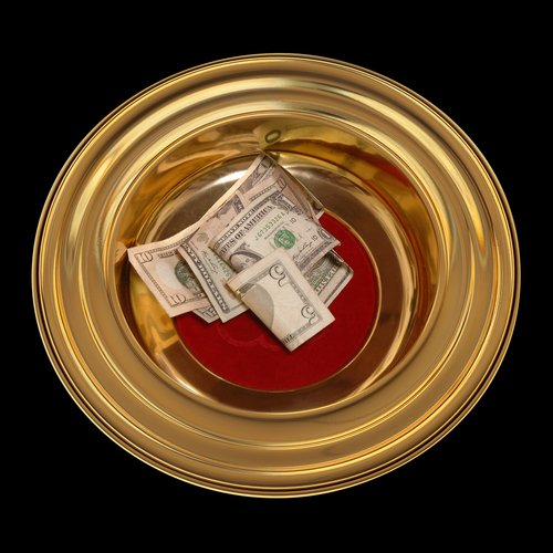 Only 2.7 percent of Americans pay a full tithe.