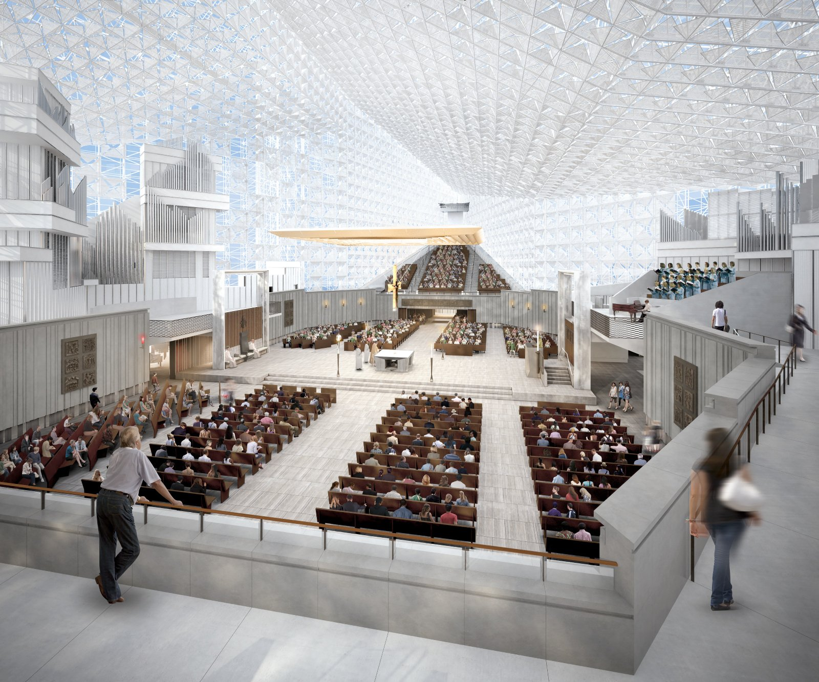 Look Inside: The transformation of the Crystal Cathedral