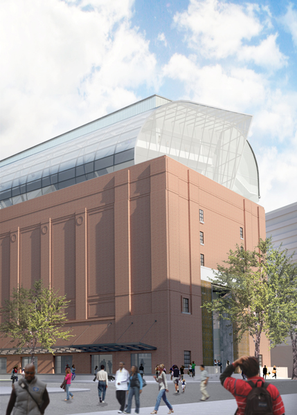 Exterior rendering of the Museum of the Bible, located three blocks from the U.S. Capitol in Washington, D.C. The eight-story, 430,000-square-foot museum is being designed by a team of consultants, including lead architect group Smith Group JJR. Photo courtesy of Smith Group JJR