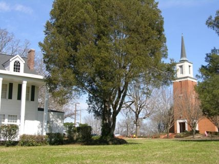 The Reformed Theological Seminary campus in Jackson, Miss. Photo courtesy of Reformed Theological Seminary