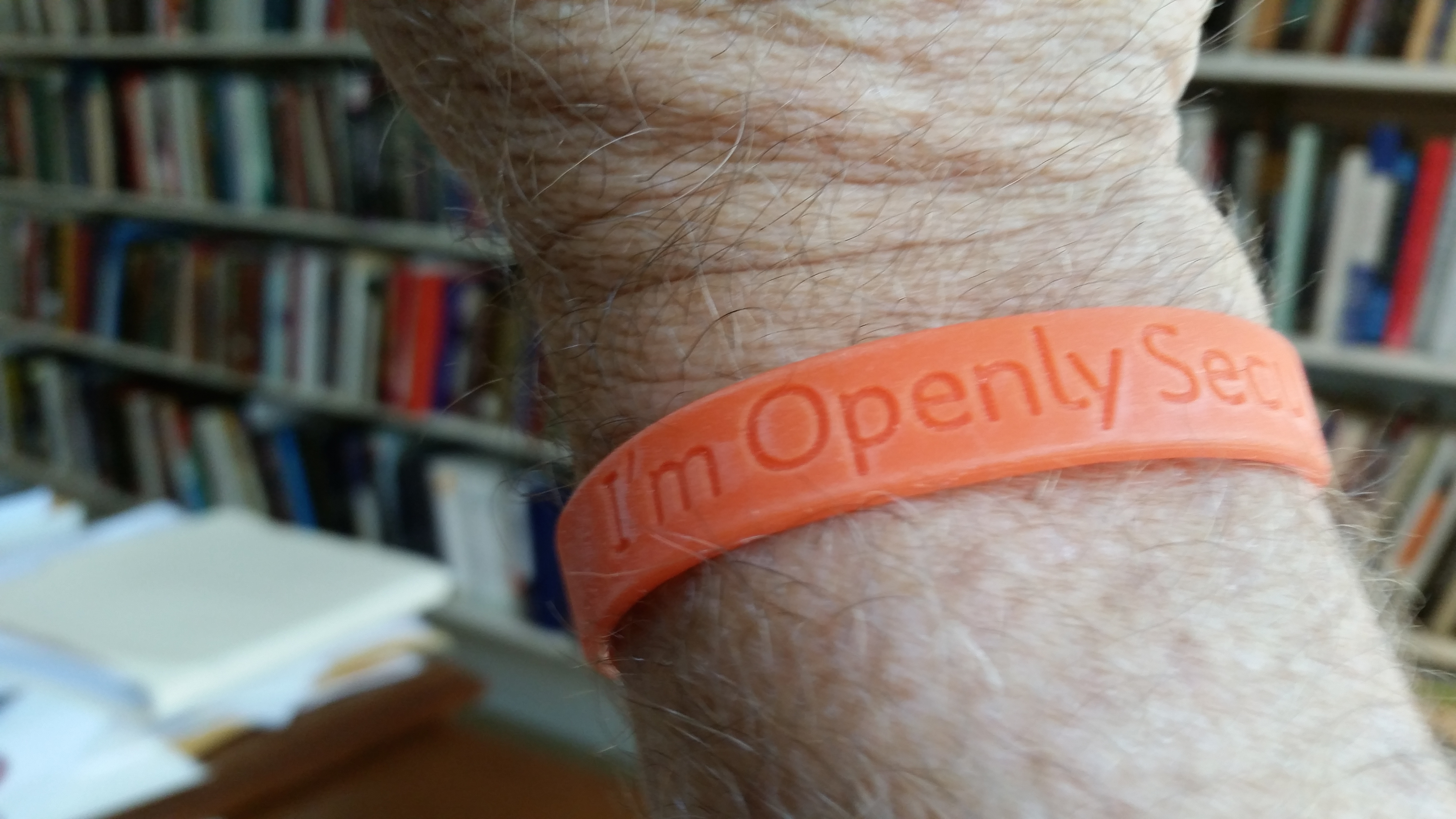 Openly Secular Coalition wristband