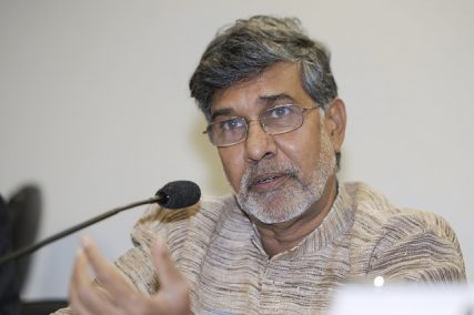 Kailash Satyarthi pictured in 2013.