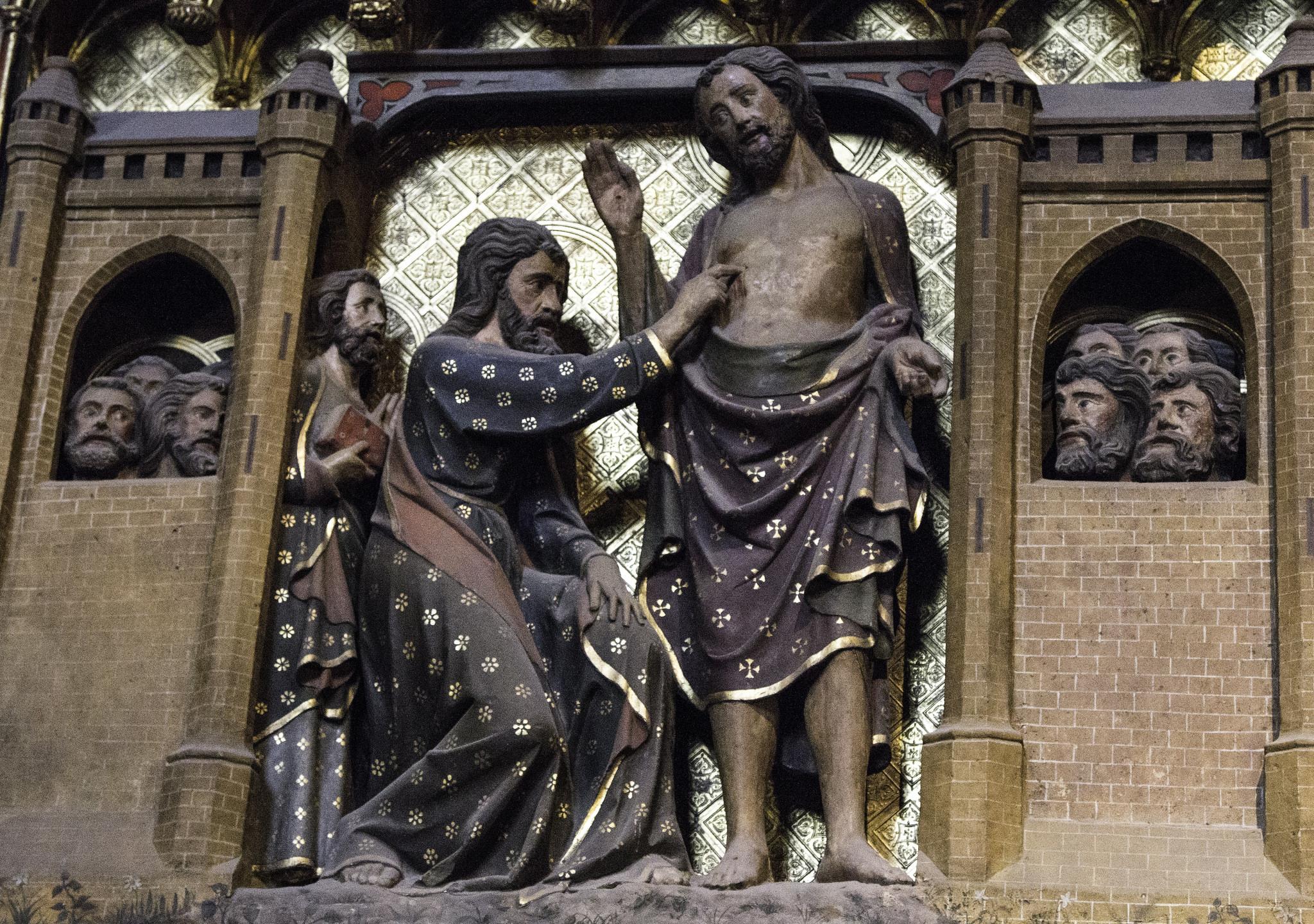 St Thomas sculpture