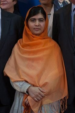 Malala Yousafzai in November 2013.