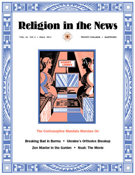 Fortieth and last hard cover of Religion in the News
