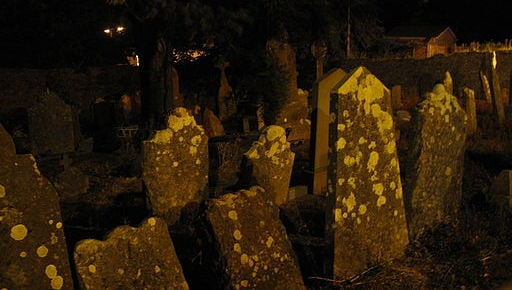 Temple Hill Graveyard, Cork, Ireland. Photo by user Guliolopez, via Wikimedia Commons.