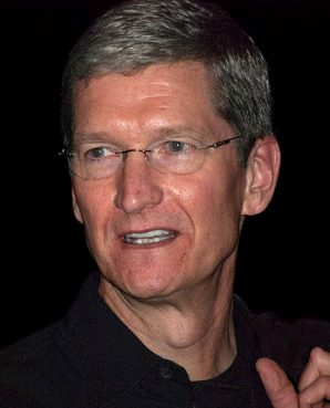 Apple CEO Tim Cook in 2009.