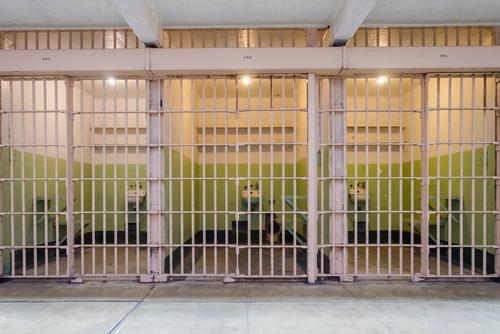 Alcatraz cells on March 1, 2014.