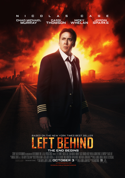 """Left Behind"" movie poster, photo courtesy of Stoney Lake Entertainment."