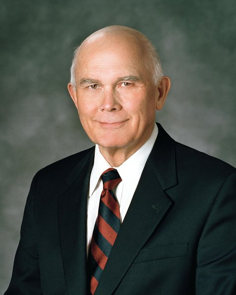 Dallin H. Oaks, a senior of member of the Mormon's Quorum of the Twelve Apostles. Photo courtesy of The Church of Jesus Christ of Latter-day Saints