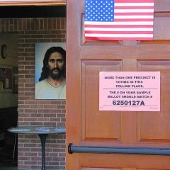 HWJV? How Would Jesus Vote image courtesy of Vaguely Artistic via Flickr