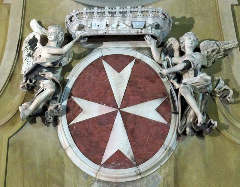 Coat of Arms of the Knights of Malta