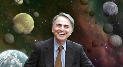 Astronomer Carl Sagan. Photo courtesy of www.jp.nasa.gov.