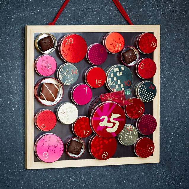 Starbucks Advent calendar.