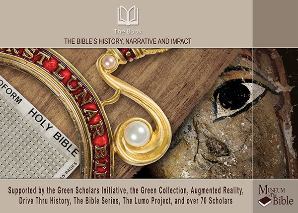 The Book's curriculum cover photo courtesy of Museum of the Bible. Photo courtesy of Museum of the Bible