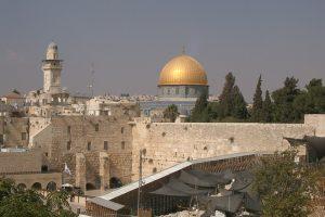 The Temple Mount – Haram al-Sharif to Muslims – in Jerusalem
