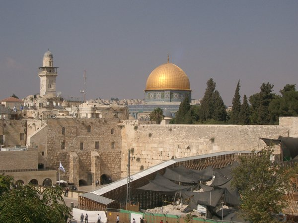 The Temple Mount – Haram al-Sharif to Muslims – in Jerusalem
