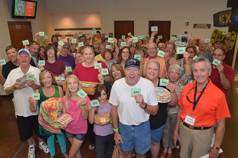 World's largest potluck part. Photo courtesy of Guinness World Records North America Inc.
