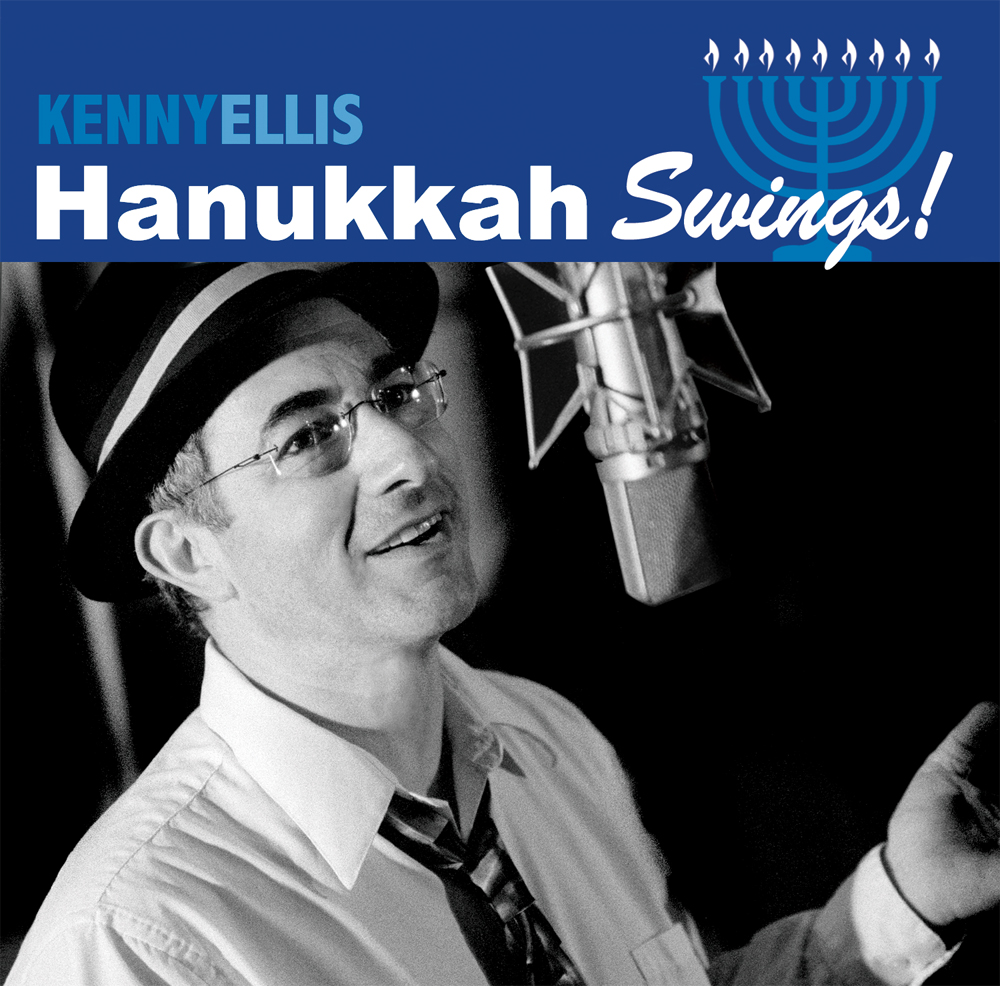 kenny ellis hanukkah swings album cover photo courtesy of favored nations records - Who Wrote Blue Christmas