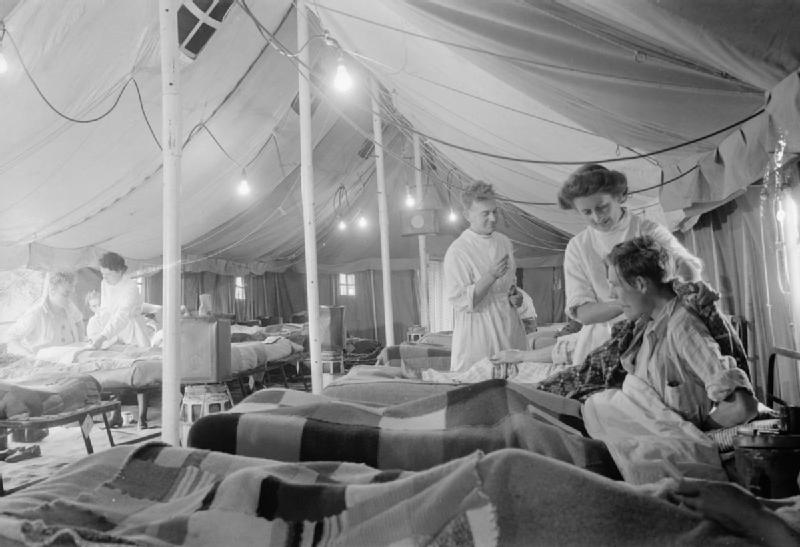 World War II field hospital, Royal Air Force