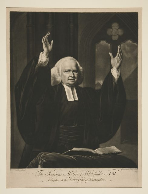 The Reverend Mr. George Whitefield.