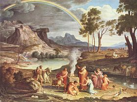 Noah's Thanksoffering (c.1803) by Joseph Anton Koch