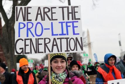 Pro-Life Generation - courtesy of American Life League via Flickr
