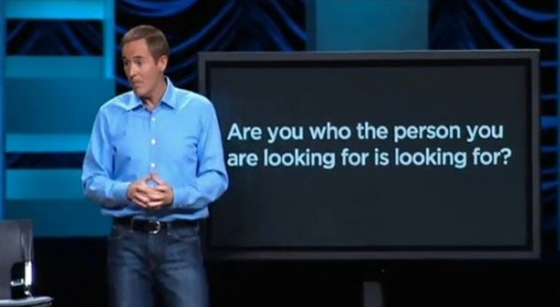 "The mega-church pastor hits hot topics head on. He even explains why he avoided discussing homosexuality but chose to talk about ""bitches"" and ""hos."" - Photo courtesy: Andy Stanley"