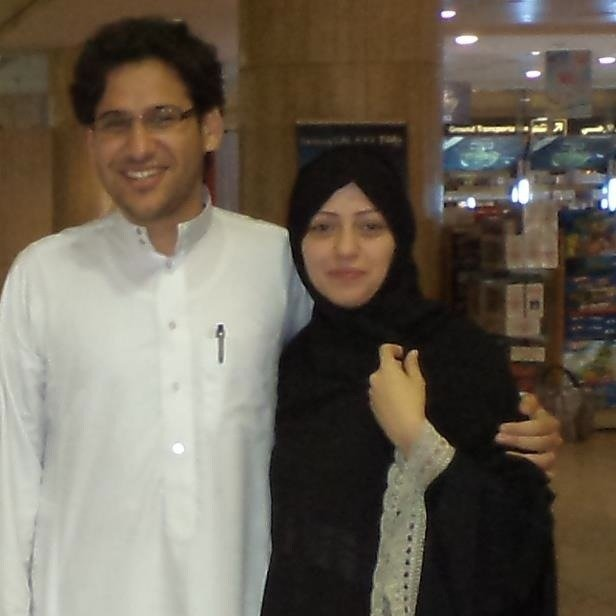Waleed Abu al-Khair and Samar Badawi. Photo courtesy of Center for Inquiry.