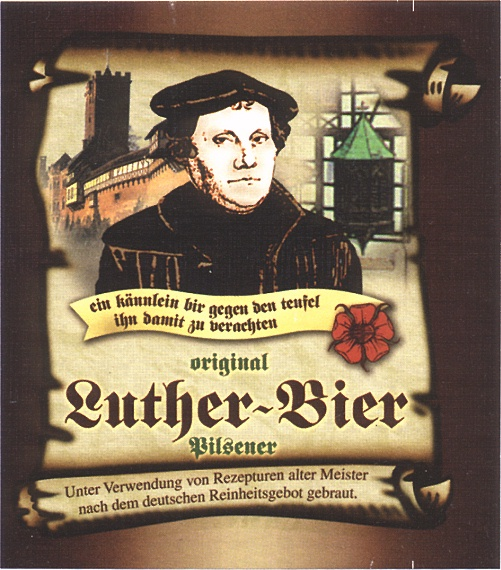 Logo for Luther beer