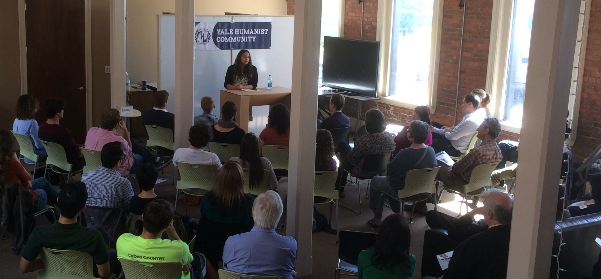 A meeting of Humanist Haven, sponsored by Yale Humanist Community.
