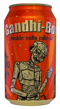 A can of Gandhi-Bot