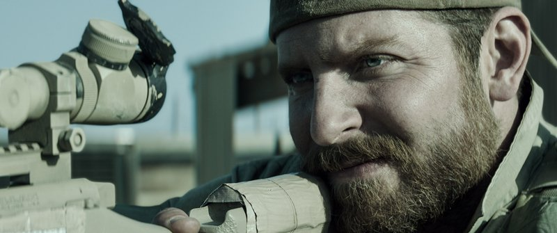 "Bradley Cooper as Chris Kyle in Warner Bros. Pictures' and Village Roadshow Pictures' drama ""American Sniper."" Photo courtesy of Warner Bros. Pictures"