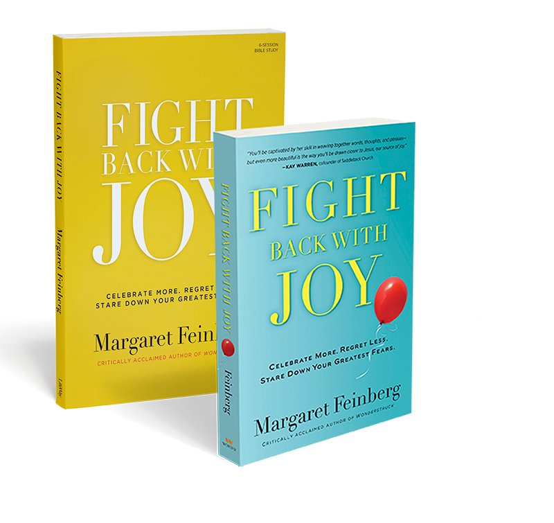 """Fight Back with Joy"" by Margaret Feinberg. Photo courtesy of Margaret Feinberg"