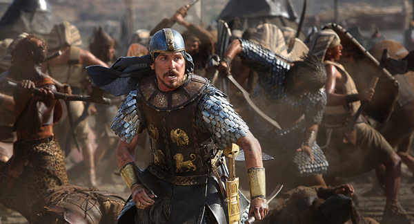 """Christian Bale stars as Moses in """"Exodus: Gods and Kings."""" RNS photo courtesy 20th Century Fox."""
