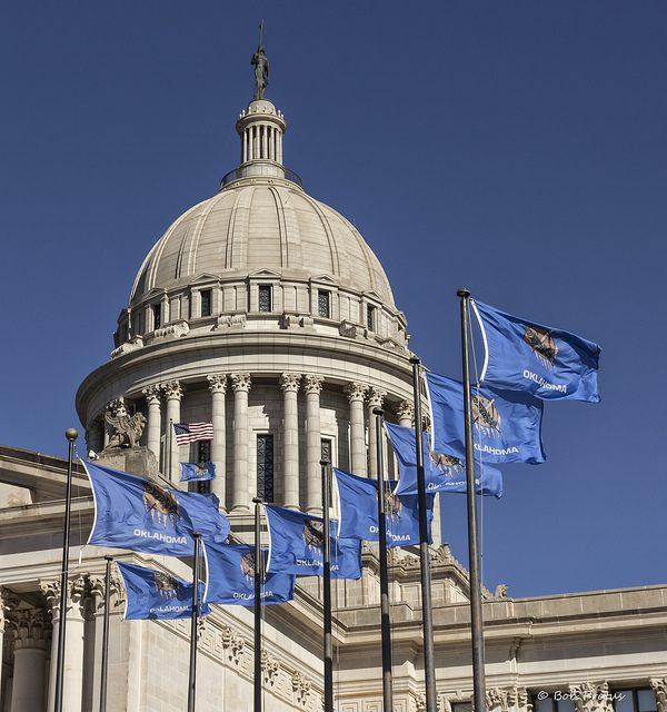 Oklahoma state Capitol, via Kool Cats Photography/Flickr.