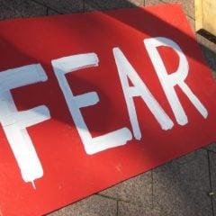 Fear - courtesy of The Wardrobe Door