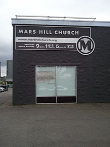 Mars Hill Church, 2012