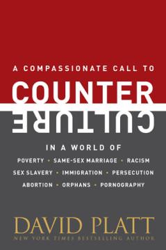 Counter Culture, by David Platt. Image via Tyndale.com