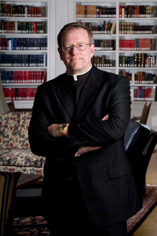 Father Robert Barron. Photo courtesy of Word on Fire Catholic Ministries