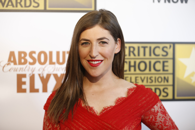 Actress Mayim Bialik poses at the 4th annual Critics' Choice Television Awards in Beverly Hills, Calif., on June 19, 2014. Photo courtesy of REUTERS/Danny Moloshok *Editors: This photo may only be republished with RNS-SALKIN-COLUMN, originally transmitted on February 10, 2015.*Editors: This photo may only be republished with RNS-SALKIN-COLUMN, originally transmitted on February 10, 2015.
