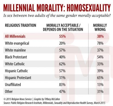 RNS homosexuality graphic by Tiffany McCallen. Click to view full size.