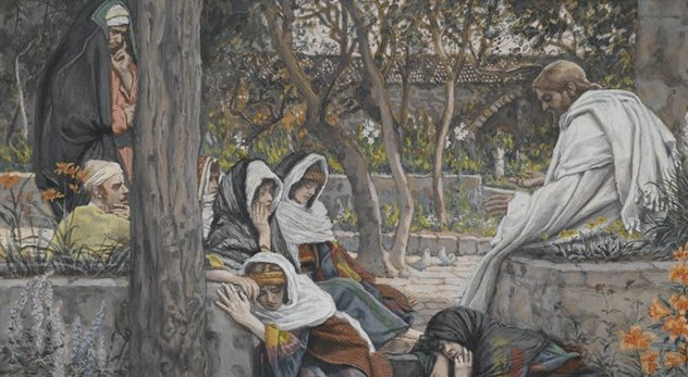 "A new book by Frank Viola and Mary Demuth uses five of Jesus' encounters with women to teach interesting lessons. - (Image: ""Jesus, Mary Magdalene, and Martha at Bethany"" by J.J. Tissot - Courtesy of Brooklyn Museum: http://bit.ly/1LSNvkl)"