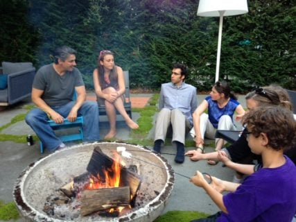 Kavana Neighborhood Meet-up, photo courtesy of Rachel Nussbaum