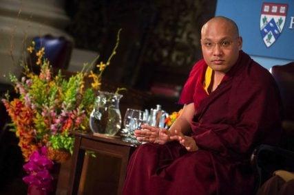 Photo of Ogyen Trinley Dorje is the 17th Karmapa.