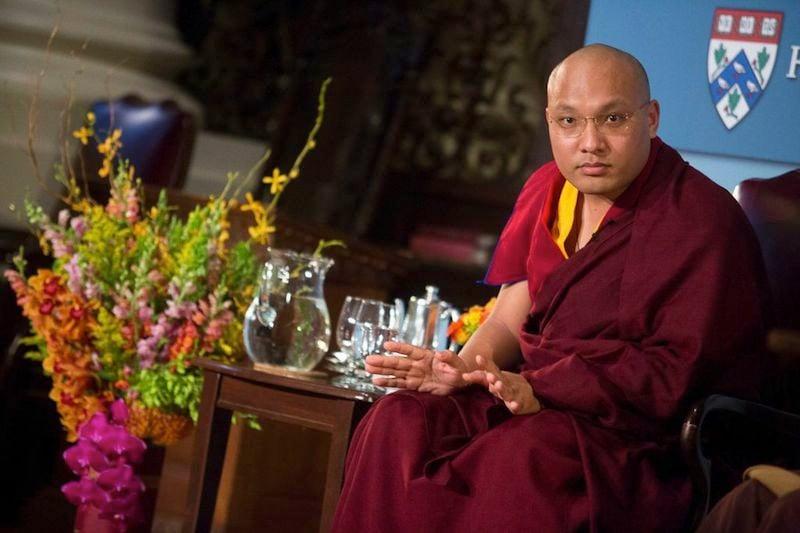 Ogyen Trinley Dorje is the 17th Karmapa -- the leader of the Karma Kagyu school of Tibetan Buddhism. He spoke March 26, 2015 at Harvard's Memorial Church. Kris Snibbe/Harvard Staff Photographer.