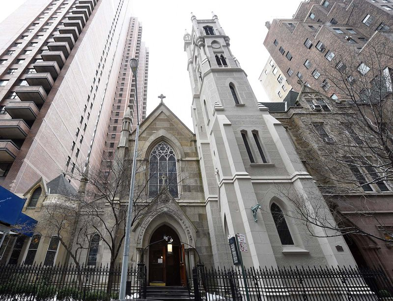 St. Thomas More church in New York City. Photo by Robert Deutsch, USA Today
