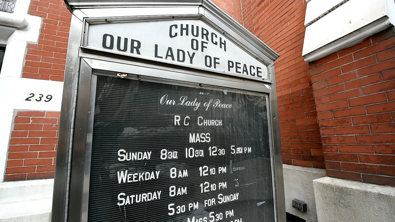 Our Lady of Peace Church on East 62nd Street in New York City. Photo by Robert Deutsch, USA Today