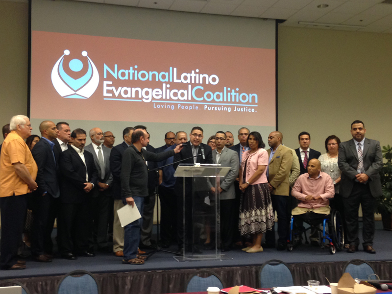 The National Latino Evangelical Coalition urged their 3,000 member congregations to end capital punishment. Photo courtesy of Heather Beaudoin